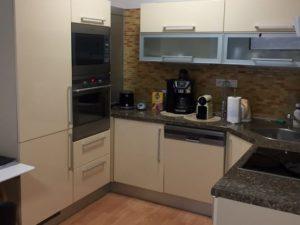 Pronájem bytu 2+kk/Z/GS 54 m2 se zahrádkou 118 m2 a garážovým stáním, Praha 9 Vysočany